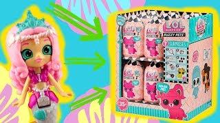 LOL Surprise HairGoals  Zwierzątko LOL Fuzzy Pets dla syrenki ♀️ bajki dla dzieci • Toys Land