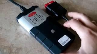 Мультимарочный сканер Delphi DS150E(Autocom CDP+)