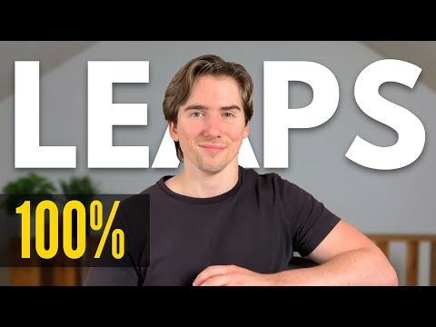 LEAPS Options – BEST OPTIONS STRATEGY EVER (How to NEVER Lose Money Trading Options)