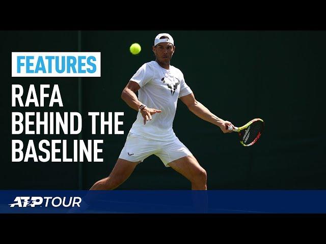 WIMBLEDON | Nadal Behind The Baseline