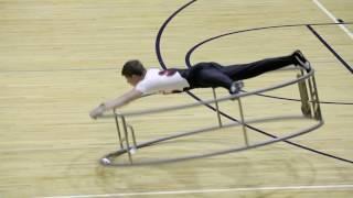 World Championships in Gymwheel 2016 Luca Christ Spiral 1st Place