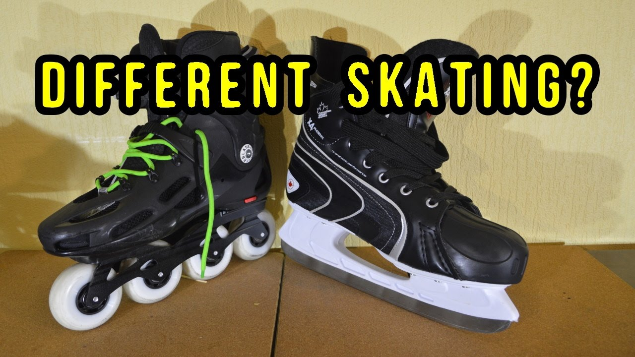 Inline Vs Ice Skating Differences Explained Youtube