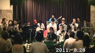 兵庫県西宮市のアマチュアビッグバンド、ウエストウインズジャズ オーケ...