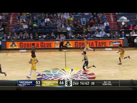 Michigan vs. Minnesota - 2017 Big Ten Men's Basketball Tournament