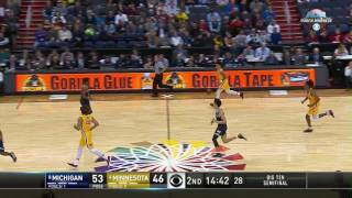 Michigan vs. Minnesota - 2017 Big Ten Men