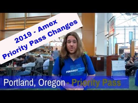 Priority Pass Restaurants Update -  No More Amex After August  2019! FinanceBuzz!