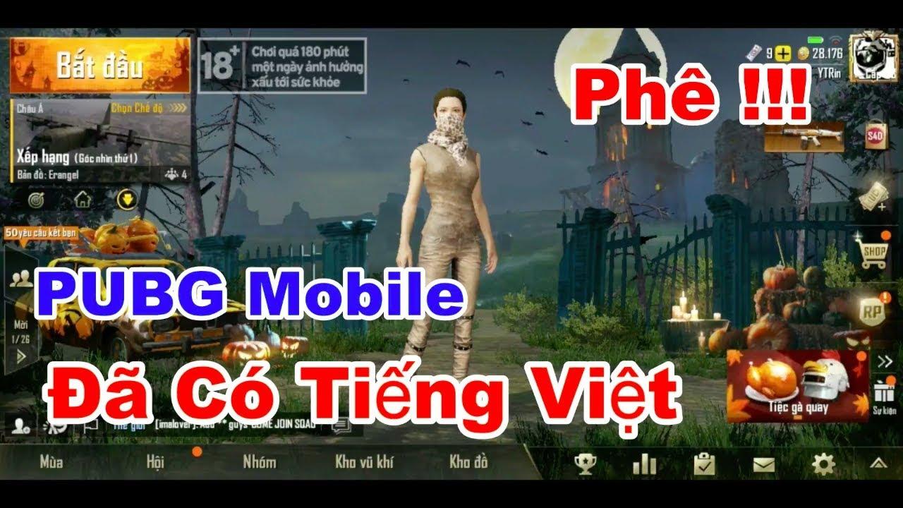 PUBG Mobile Tiếng Việt của VinaGame Đã Ra Mắt. Liệu Có Hết Hack ??? | 4 Ngón | PUBG Mobile