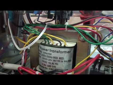 Lab power supply finally Voltage regulation failure  0-30v 5A