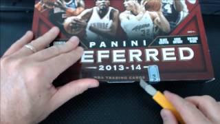 2013-14 Panini Preferred Basketball Case Break #1