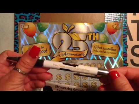 25th anniversary lotto