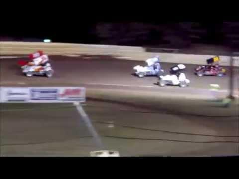 Creek County Speedway Champ Sprint Main 09/27/14