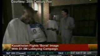 """Borat"" Vs. Kazakhstan - Bloomberg"