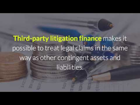 Litigation Finance and Corporate Risk Management