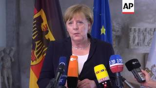 Merkel discussed climate change, G20 with Pope