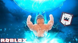 DESBLOQUEANDO O RANK SECRETO 💥-Roblox super poder Training Simulator