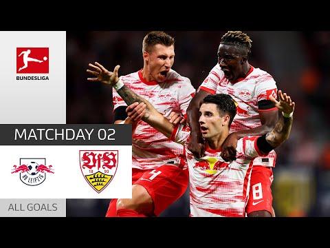 Szoboszlai Shines with a Brace! | RB Leipzig - VfB Stuttgart 4-0 | All Goals | Matchday 2 – 2021/22