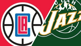Utah Jazz Vs LA Clippers Play By Play Reaction #Jazz #Clips