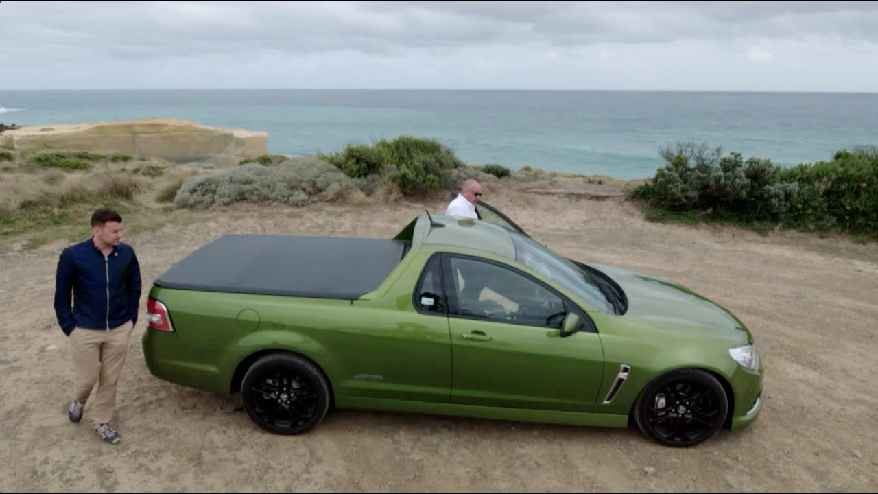 medium resolution of f1 off the grid driving a holden ute down australia s great ocean road