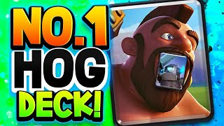 "HOG + MINI PEKKA CYCLE NEVER DIES! #1 ""EASY"" HOG DECK!"