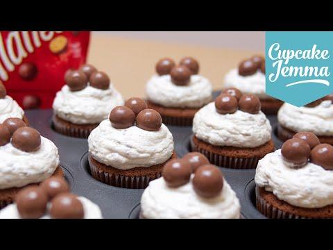 Generate Malteser Cupcake Recipe | Cupcake Jemma Pics