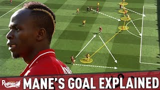 Sadio Mane's Goal Explained (And Trent's Non-Assist!) | Liverpool v Wolves 2-0