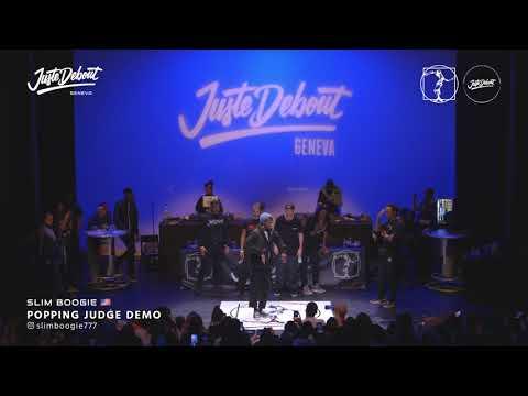 Slim Boogie - Judge demo Juste Debout Geneva 2020