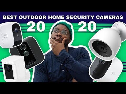 Best Outdoor Security Cameras Of 2021 The Top