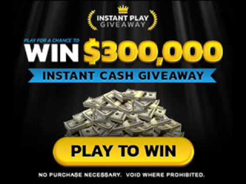Instant sweepstakes wins