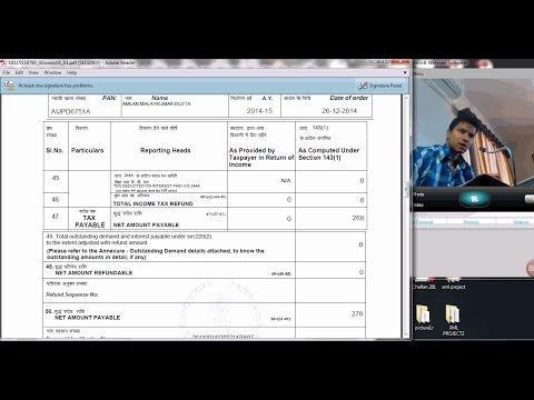 1135 (Intimation Demand) How to pay intimation demand tax (Live)?
