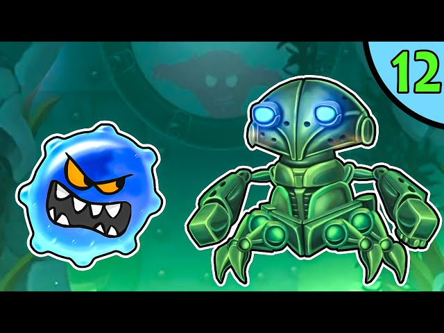 ЛИЗУН глазастик ГУ в подводном мире #12. Игра Goo Saga на канале Игрули TV