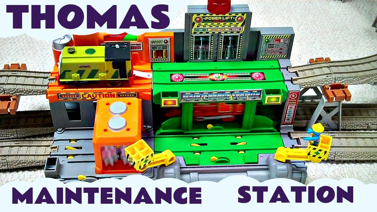Takara Tomy Thomas Amp Friends Plarail Maintenance Station