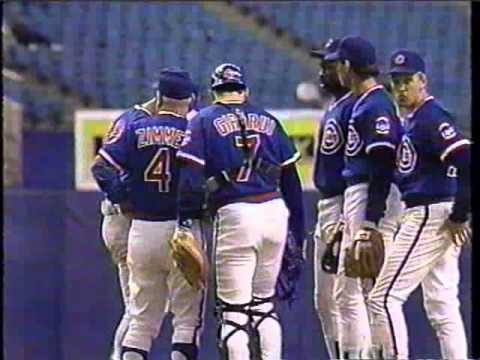 1989 Chicago Cubs clinching Eastern Division, post-game celebration and montage