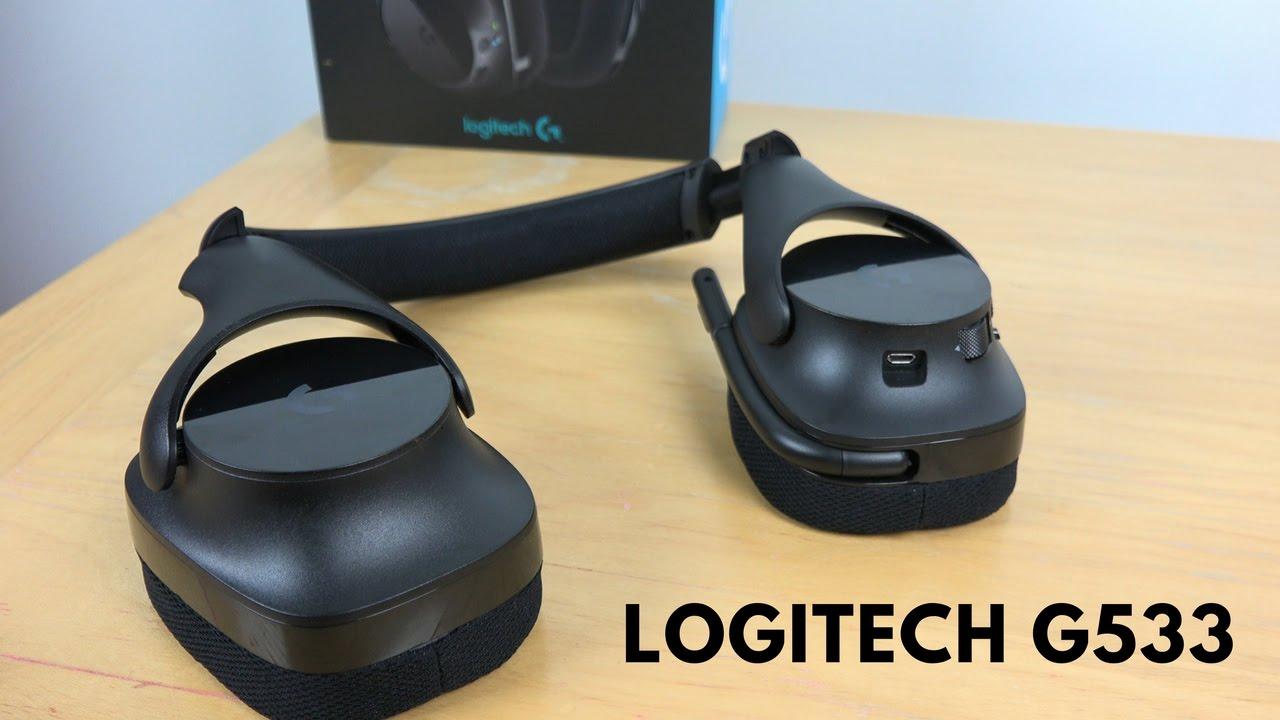 Logitech G533 Wireless PC Gaming Headset