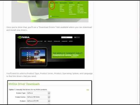 How to Download and Update GeForce Drivers