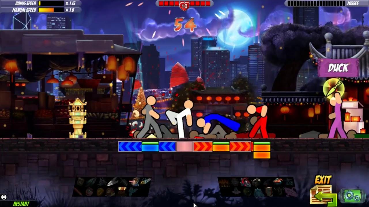 Image result for One Finger Death Punch 2