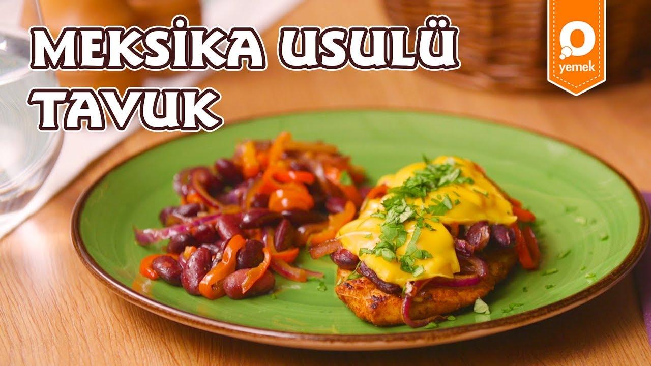 Meksika Usulü Tavuk Tarifi - Pratik Yemek Tarifleri