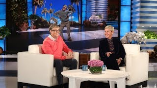 Bill Gates Chats wİth Ellen for the First Time