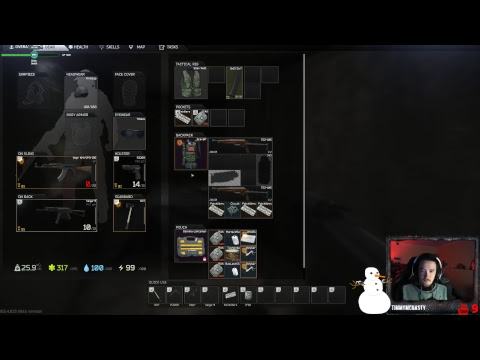 EFT Live Stream Most insane loot run gear worth over 3.5 million. watch vid at 1 hour and 18 min