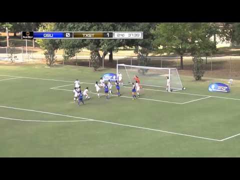 2014 Sun Belt Conference Women's Soccer Championship: Georgia State vs Texas State