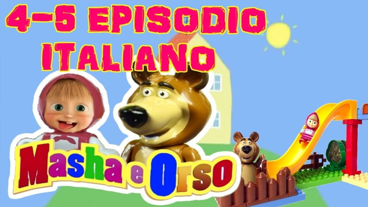 episodi masha e orso in italiano