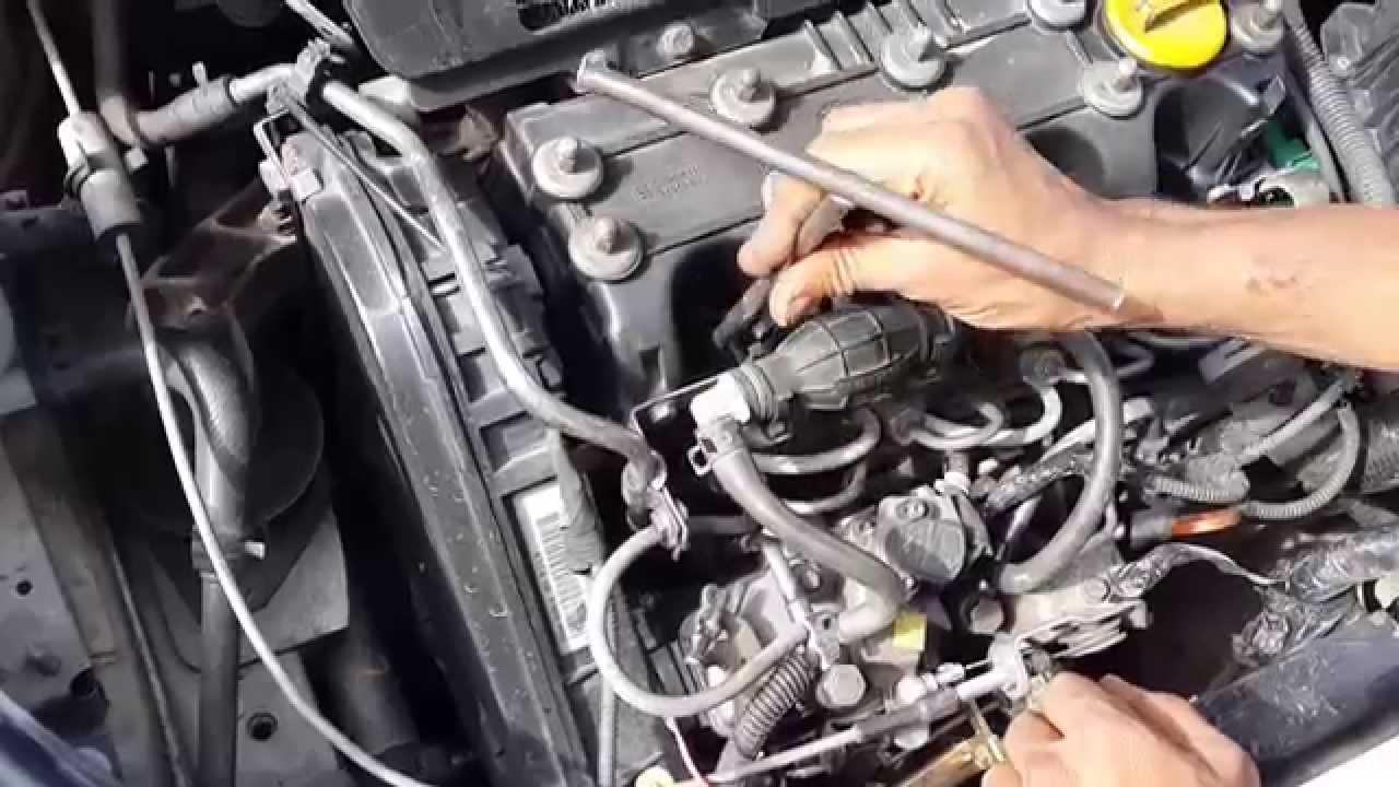 replacing heater plug - tata indica