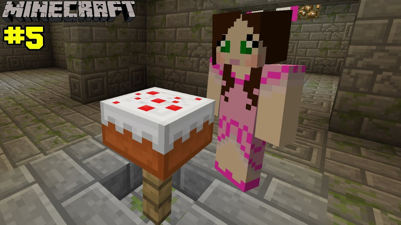 Minecraft Birthday Cake Challenge Eps7 5 Youtube