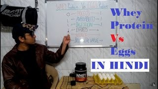 Whey Protein Vs Egg Protein in Hindi / Whey or Egg what to choose ?