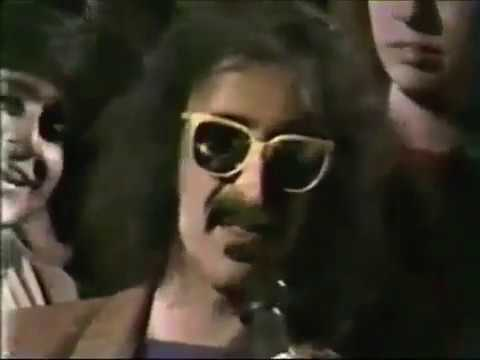 1984 Frank Zappa funny interview with Grace Slick