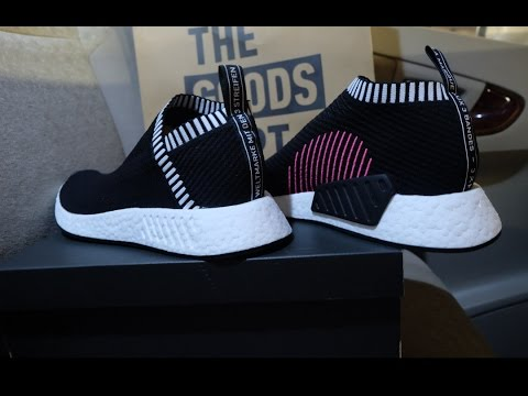 buy online 141ef 2475b UNBOXING Adidas NMD CS2 PK  Core Black  - City Sock 2