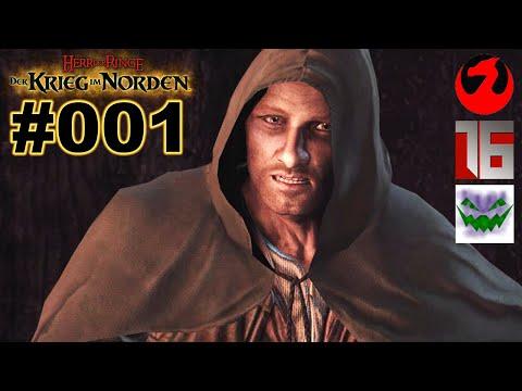 HERR DER RINGE DER KRIEG IM NORDEN #001 Aragorn★ Let's Play War in The North [Deutsch]