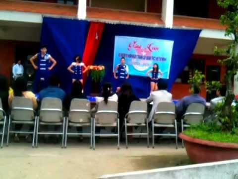 nhay dance lop 11/1 truong hermann da nang cute