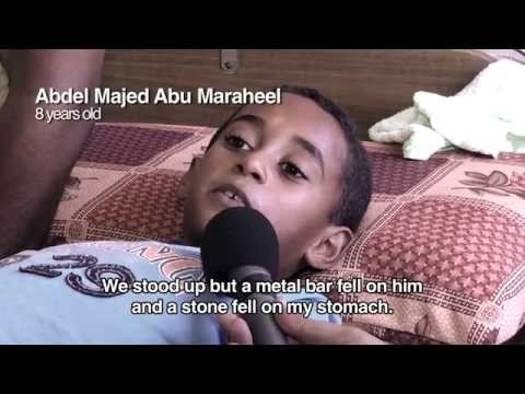 An 8-year-old Palestinian boy shares his story of survival | UNICEF
