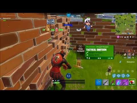 Lirik play Fortnite solo in a squad game - Insane game