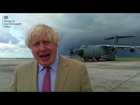 Boris Johnson visits Barbados